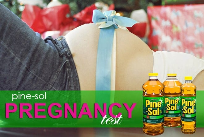 Pine Sol Pregnancy Test: Supplies and Instructions