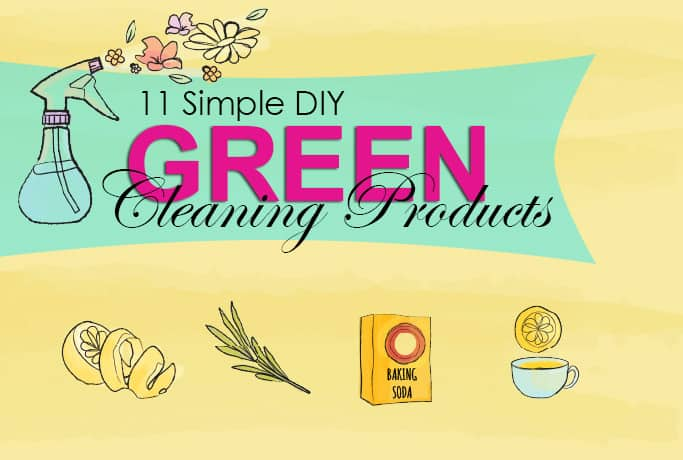 11 Simple DIY Green Cleaning Products