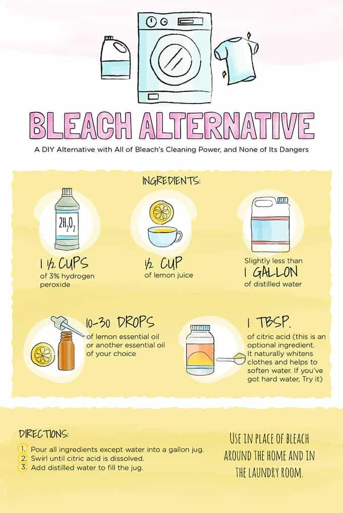 How To Make A Diy Bleach Alternative